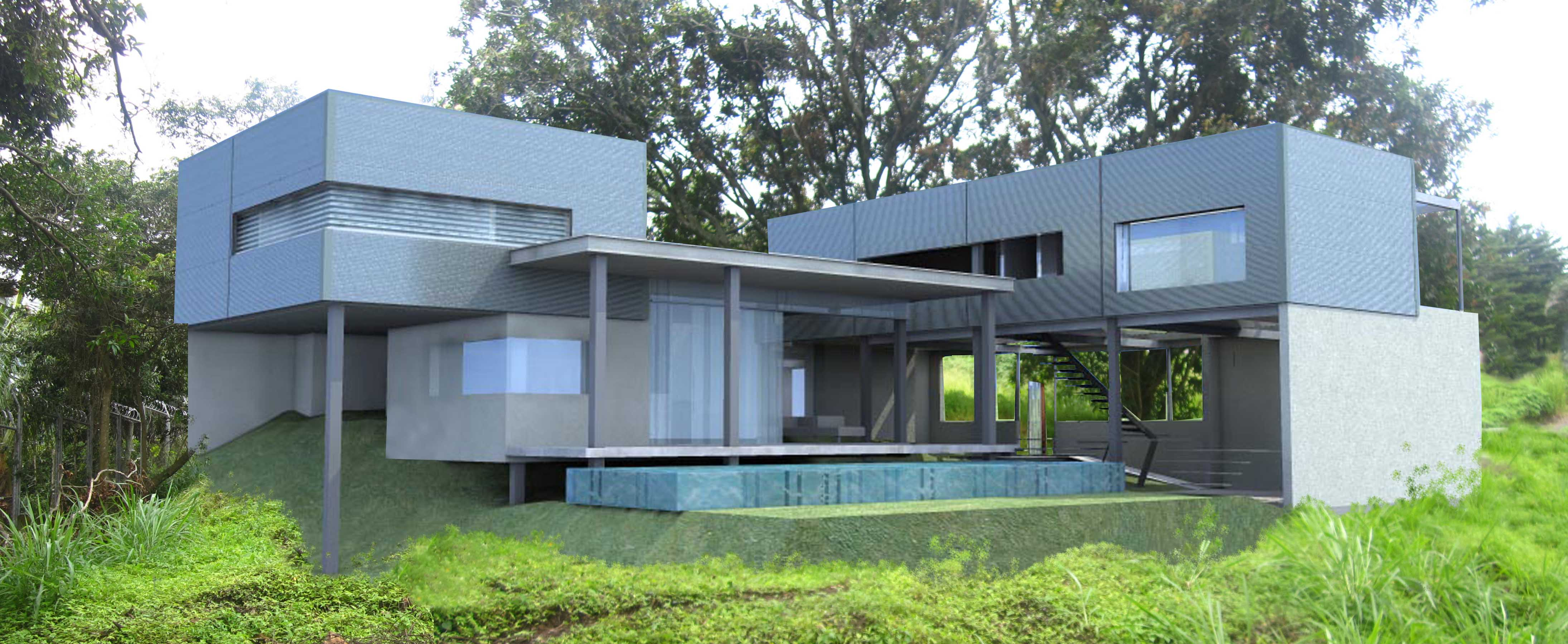 All About Steel Frame Building in Costa Rica | Dott Architecture ...