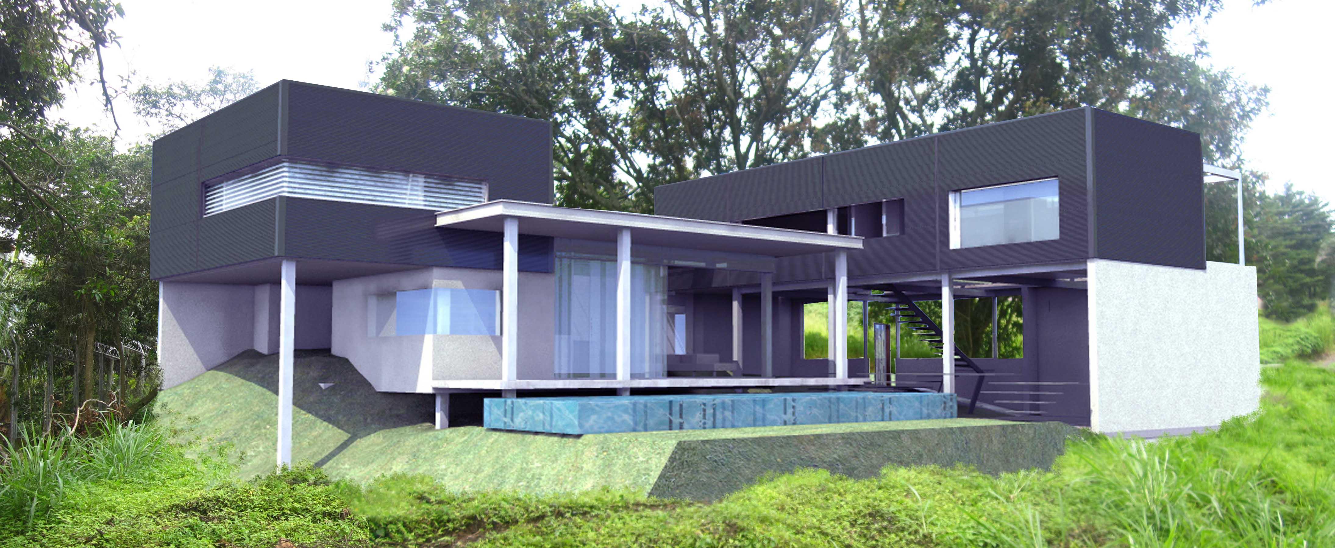 Prefab homes costa rica dott architecture tropical for Prefab tropical homes